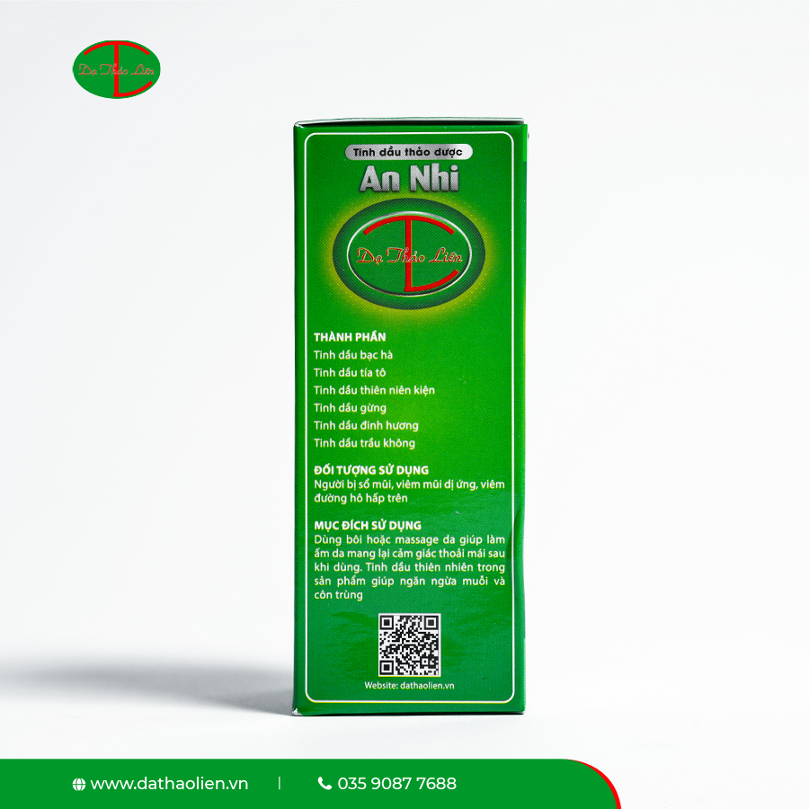 Tinh Dầu Thảo Dược An Nhi (20ml)  - Dạ Thảo Liên